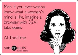 a woman's mind