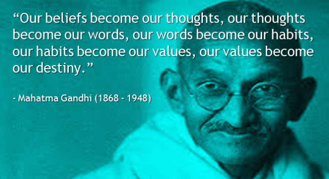 Gandhi-on-beliefs